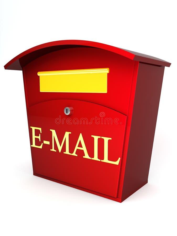 Rectángulo del email ilustración del vector