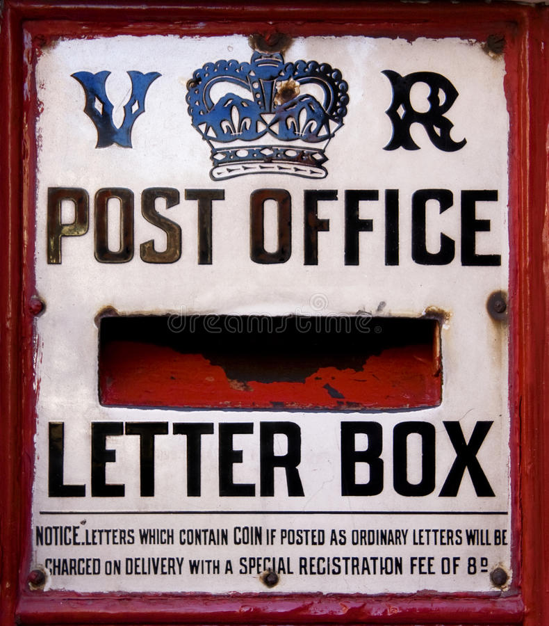 Rectángulo del poste imagen de archivo