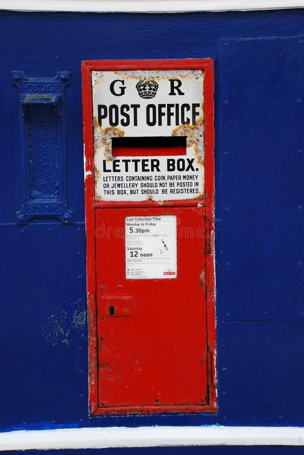 Rectángulo del poste de George V, Hastings fotos de archivo libres de regalías