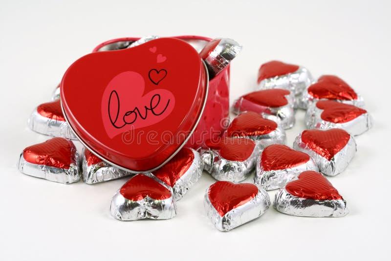 Rectángulo dulce del amor fotos de archivo