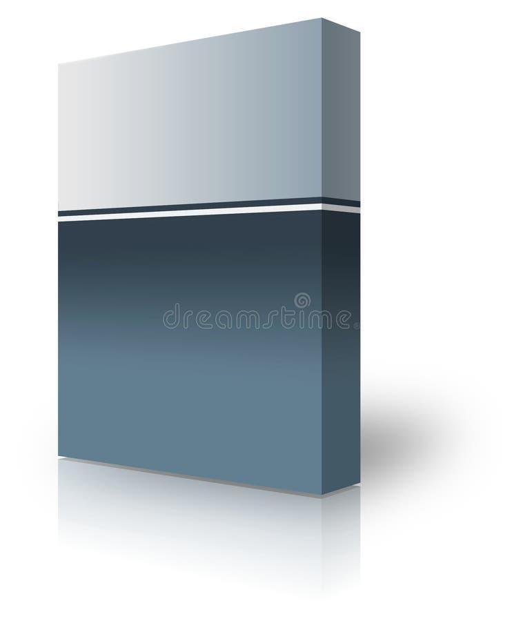 Rectángulo en blanco ilustración del vector