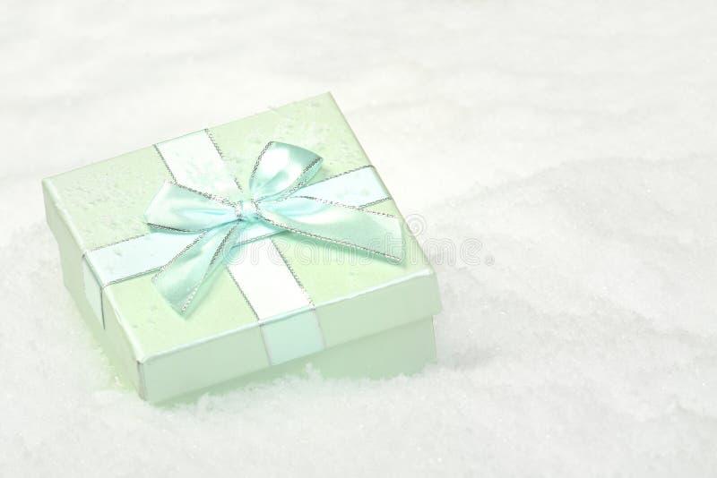 Rectángulo en nieve fotos de archivo libres de regalías
