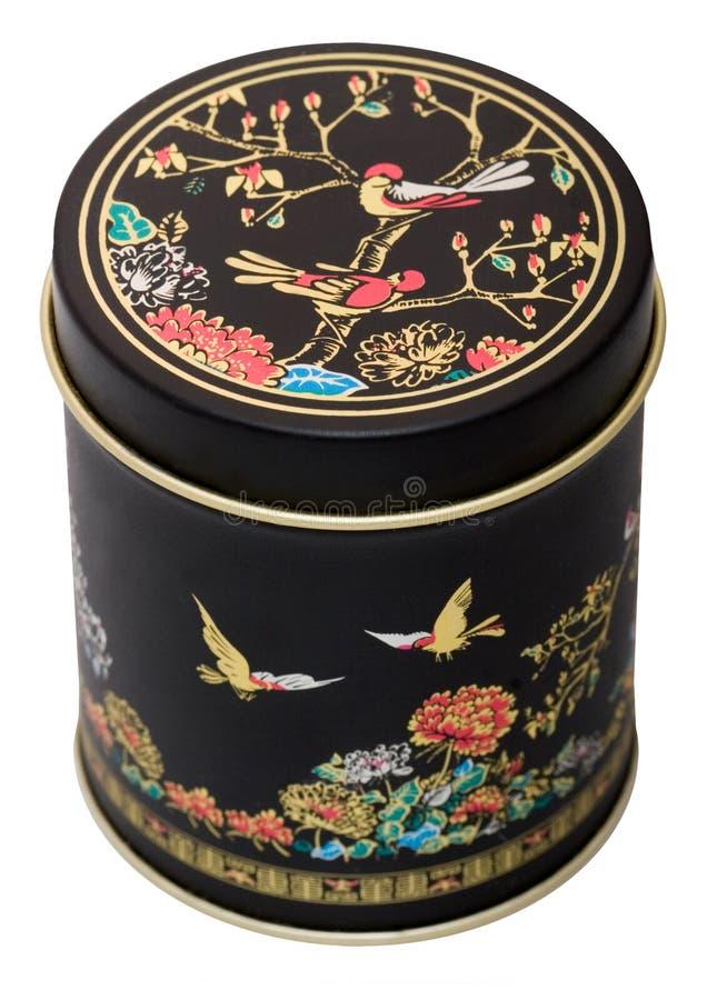 Rectángulo viejo para el té fotografía de archivo libre de regalías