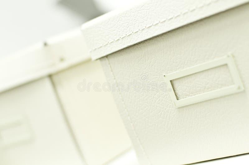 Rectángulos blancos de la oficina imagen de archivo libre de regalías