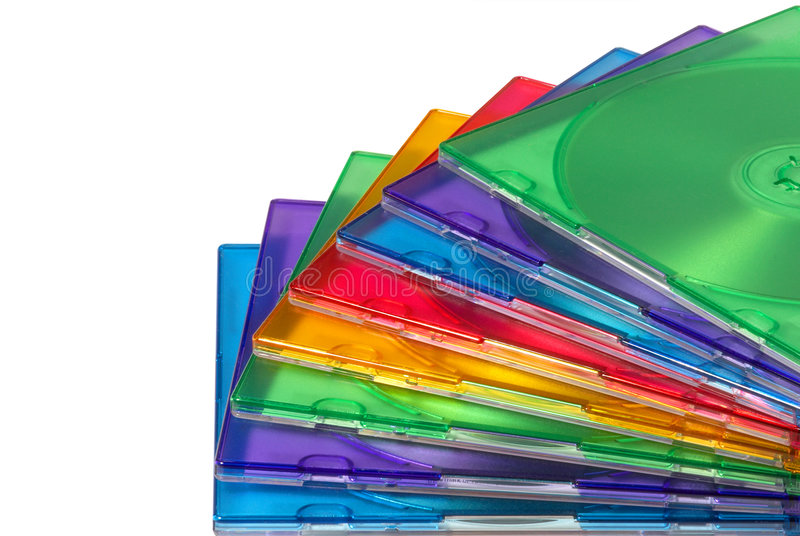 Download Rectángulos De Color Para El Disco Compacto Del Ordenador Foto de archivo - Imagen de compacto, aislado: 7150962