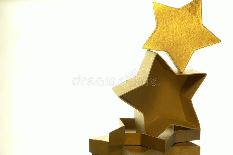 Download Rectángulos De La Estrella Del Oro Imagen de archivo - Imagen de decoraciones, navidad: 7280729