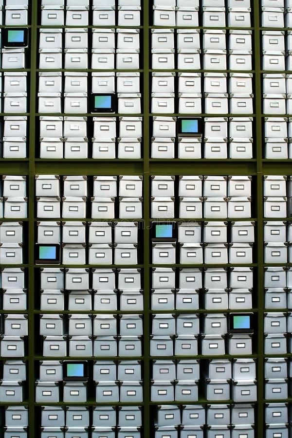 Rectángulos de los archivos fotografía de archivo libre de regalías
