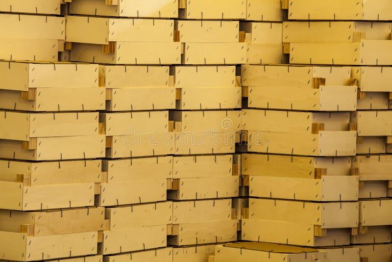 Rectángulos de madera fotografía de archivo libre de regalías