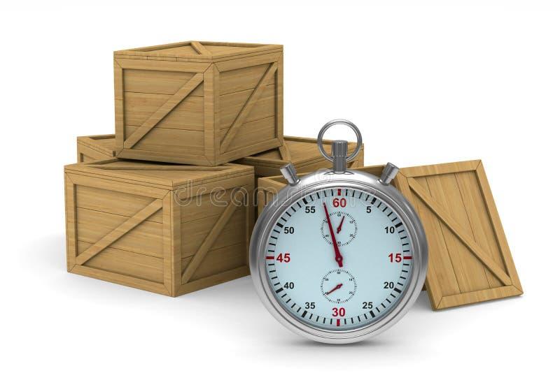 Rectángulos de madera 3d libre illustration