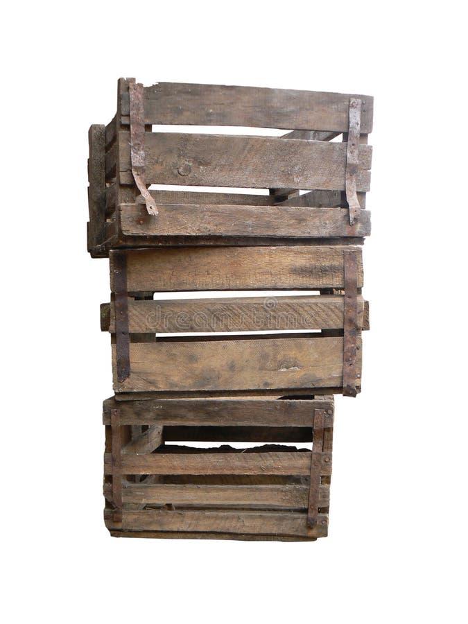 Rectángulos de madera viejos fotos de archivo libres de regalías