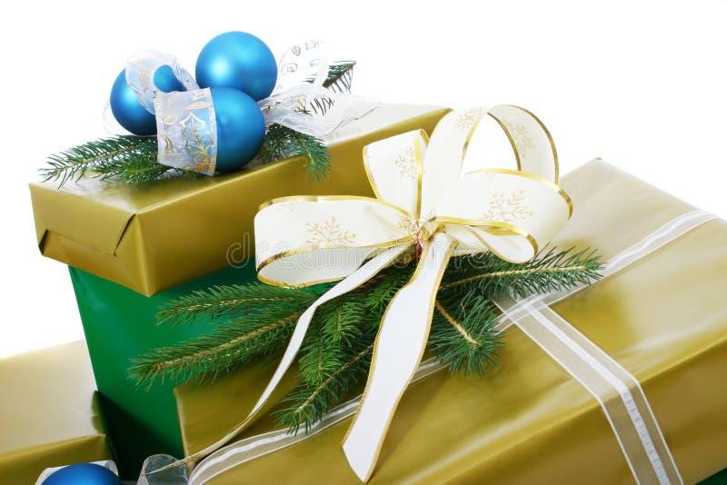 Cajas de regalos imagen de archivo libre de regalías