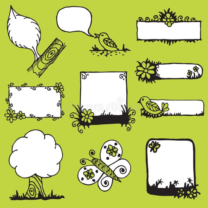 Rectángulos de texto libre illustration