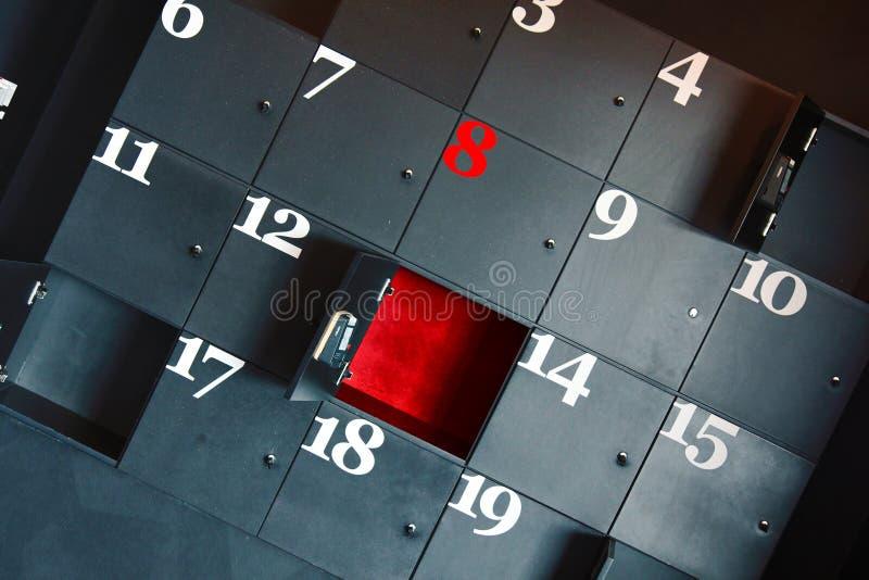 Rectángulos del dígito foto de archivo
