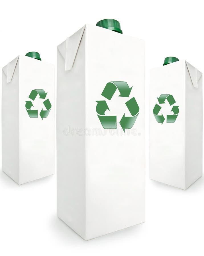 Rectángulos reciclables imagenes de archivo