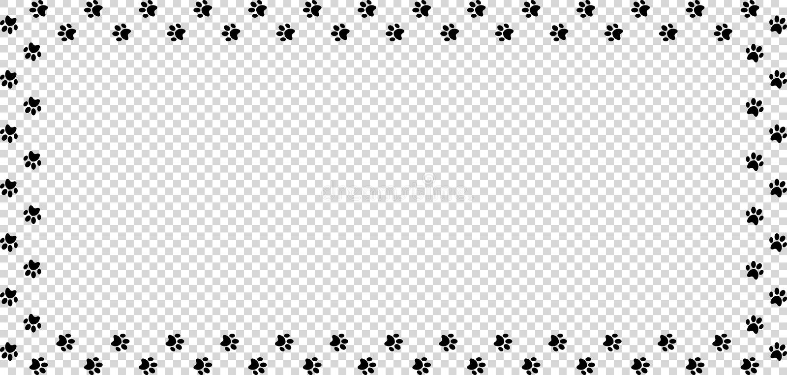 Paw Prints Border Stock Illustrations 388 Paw Prints Border Stock Illustrations Vectors Clipart Dreamstime This entry was posted in png files and tagged grunge, paw, print on january 17, 2018 by zolee. paw prints border stock illustrations