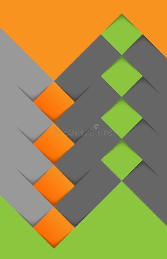 Rectangles bleus 2 illustration de vecteur