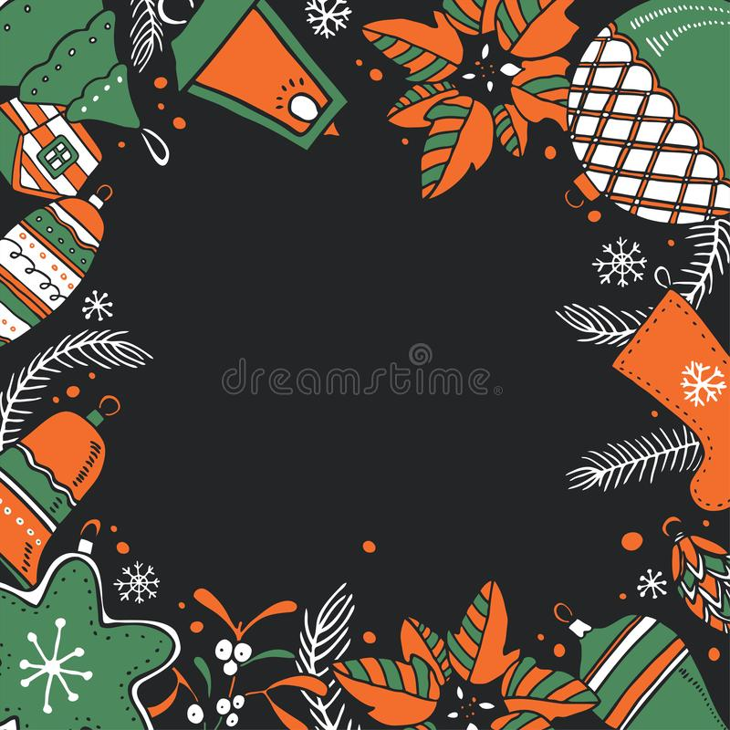 Christmas Tree Tangram: Christmas Tree Color Vector Stock Vector