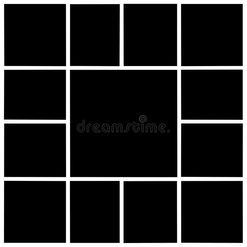Rectangular frames, empty frames royalty free stock photos