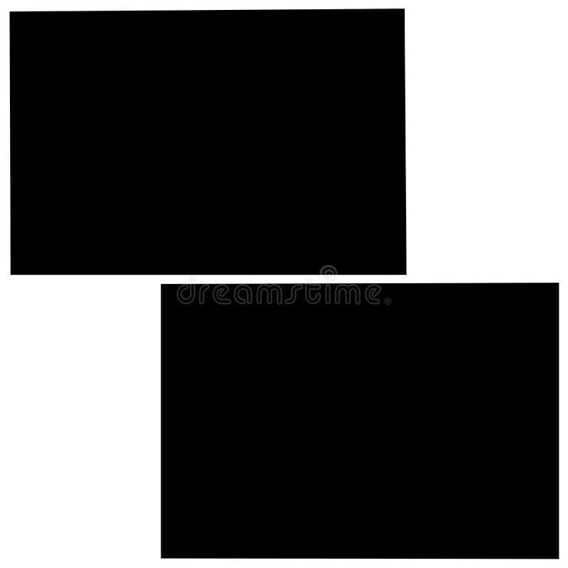 Rectangular frames, empty frames royalty free stock photography