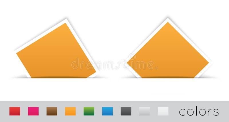 Download Rectangular Label stock vector. Illustration of communicate - 26517626