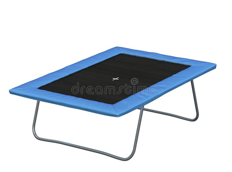 Rectangular Trampoline Royalty Free Stock Images