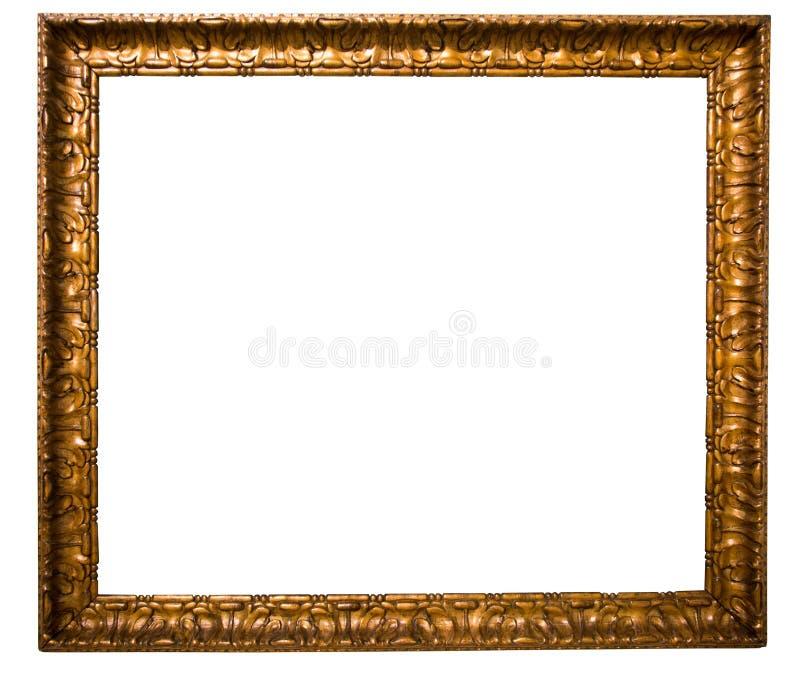 Rectangularframe para la foto en fondo aislado ilustración del vector