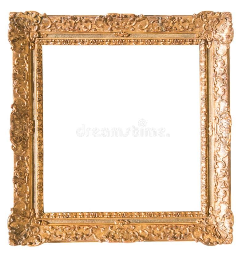 Rectangularframe para la foto en fondo aislado fotografía de archivo libre de regalías