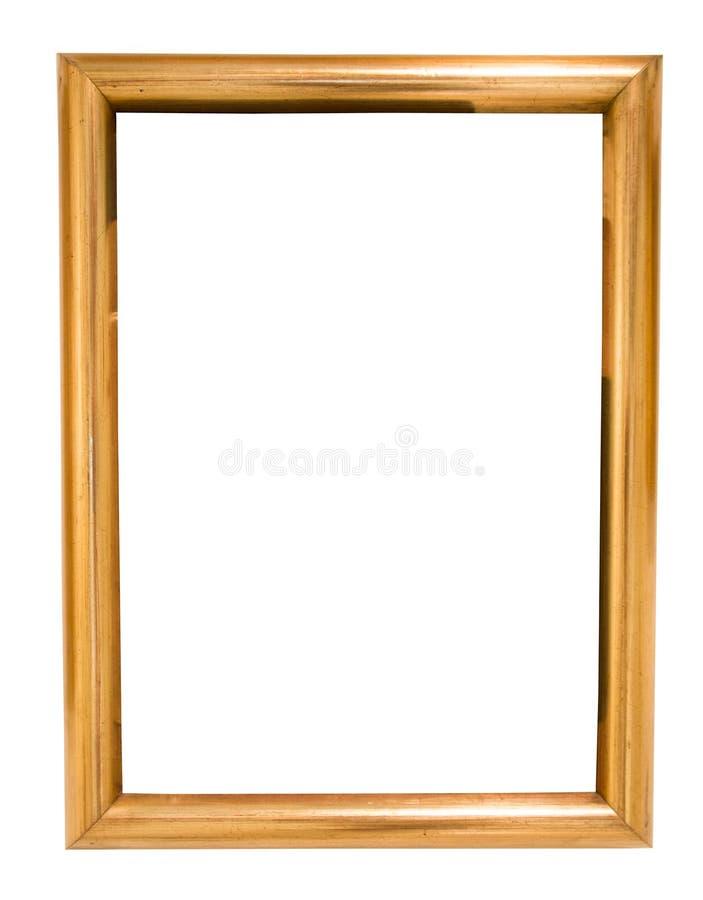 Rectangularframe per la foto su fondo isolato illustrazione di stock