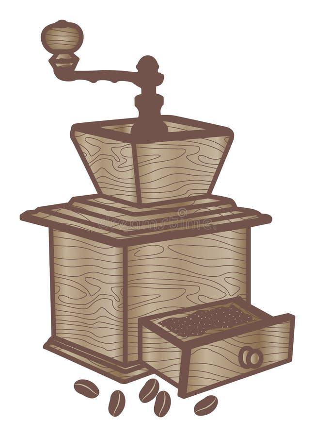 Rectifieuse de café illustration de vecteur