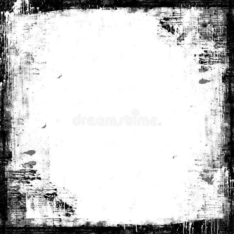 Recubrimiento pintado textura de la máscara del marco de Grunge imágenes de archivo libres de regalías