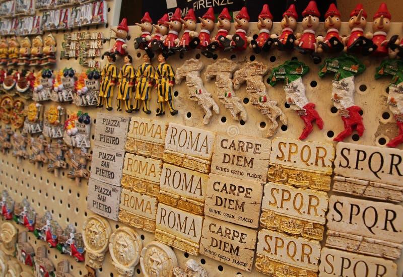 Recuerdo de Italia en la calle fotos de archivo libres de regalías