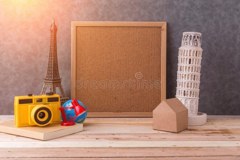 Recuerdo del concepto del viaje fotografía de archivo