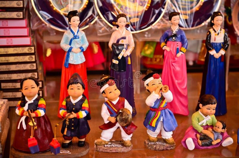 Recuerdos coreanos tradicionales del viaje fotos de archivo libres de regalías