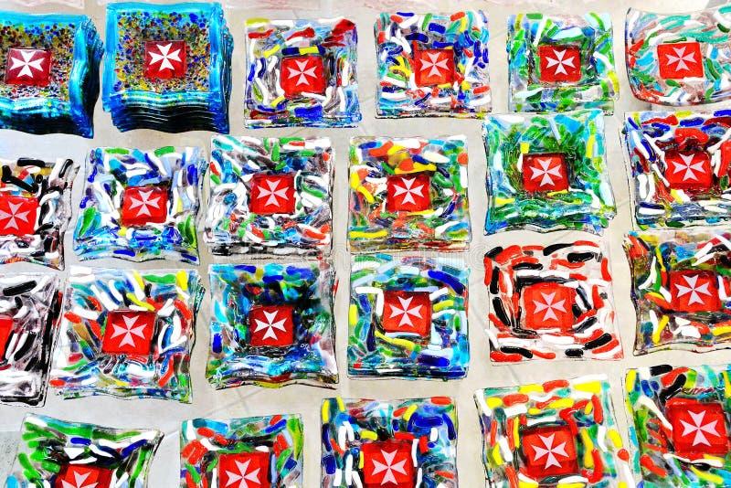 Recuerdos de Malta imágenes de archivo libres de regalías