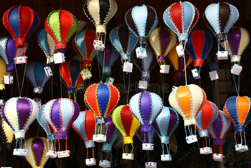 Recuerdos para los turistas en Cappadocia, Turquía foto de archivo libre de regalías