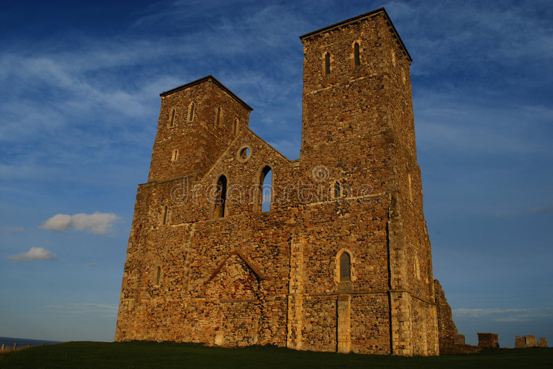 Download Reculver Towers stock image. Image of england, sights - 7024377