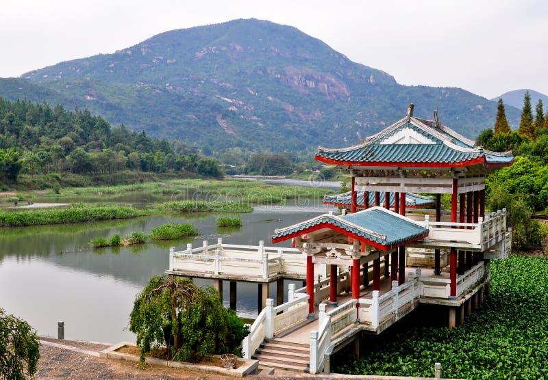 Recuo de China foto de stock royalty free