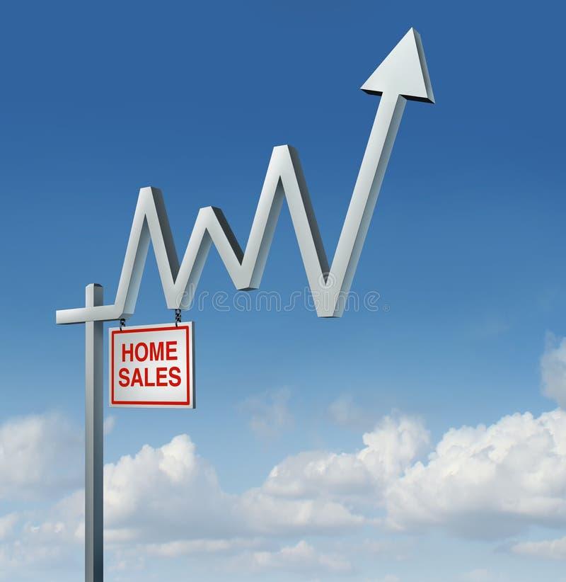 Recuperação de Real Estate ilustração stock
