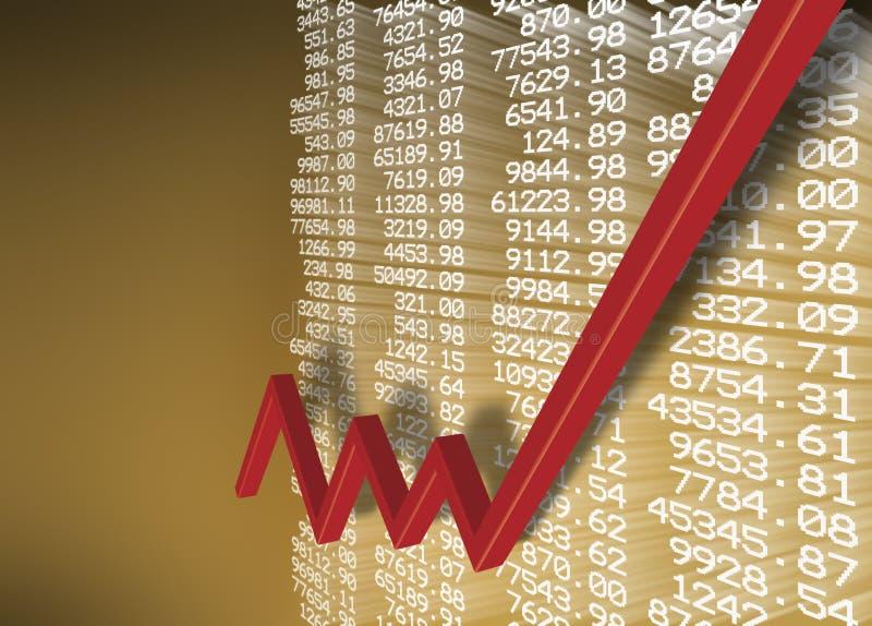 Recuperação económica ilustração stock
