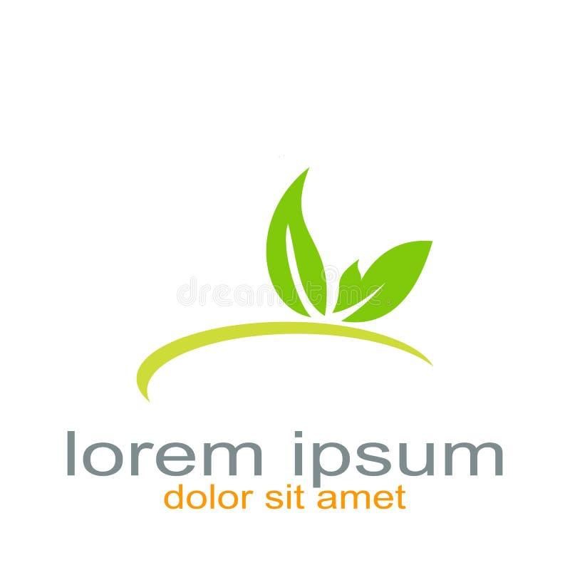 Recurso creativo del gráfico del logotipo de la mariposa del diseño stock de ilustración