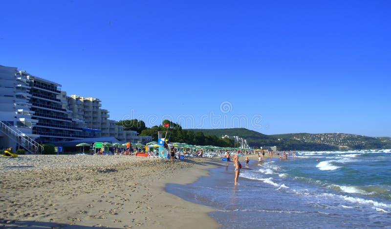 Recurso de Albena, Bulgária imagens de stock royalty free