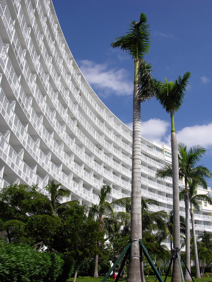 Recurso de console grande de Bahama imagens de stock royalty free