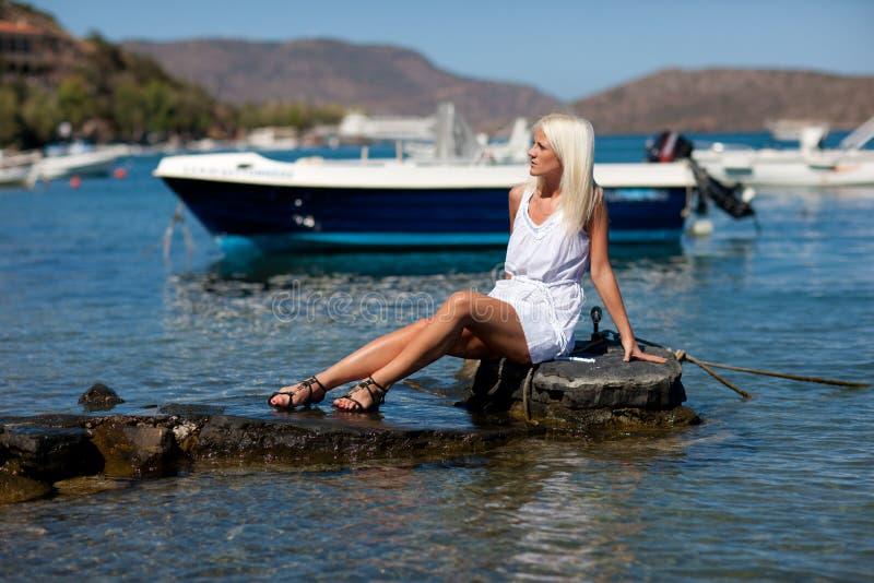 Recurso de Crete foto de stock