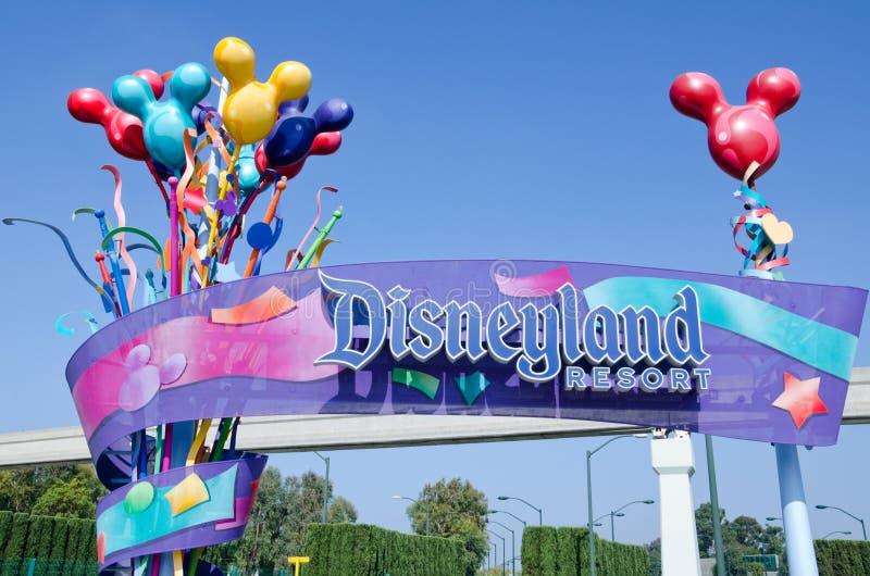 Recurso de Disneylâandia foto de stock royalty free