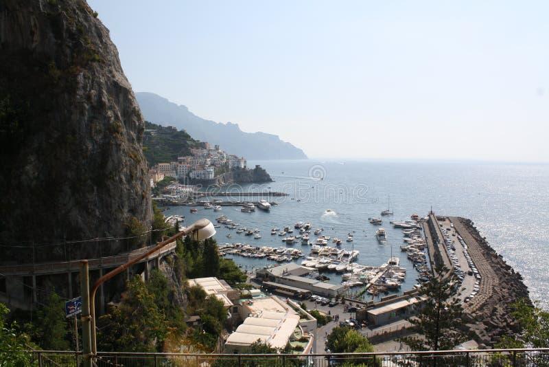 Recurso de feriado de Itália Amalfi fotografia de stock royalty free