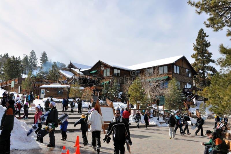 Recurso de montanha de Big Bear imagens de stock royalty free
