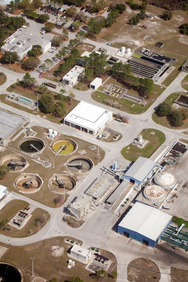 Recurso del tratamiento de aguas residuales fotos de archivo