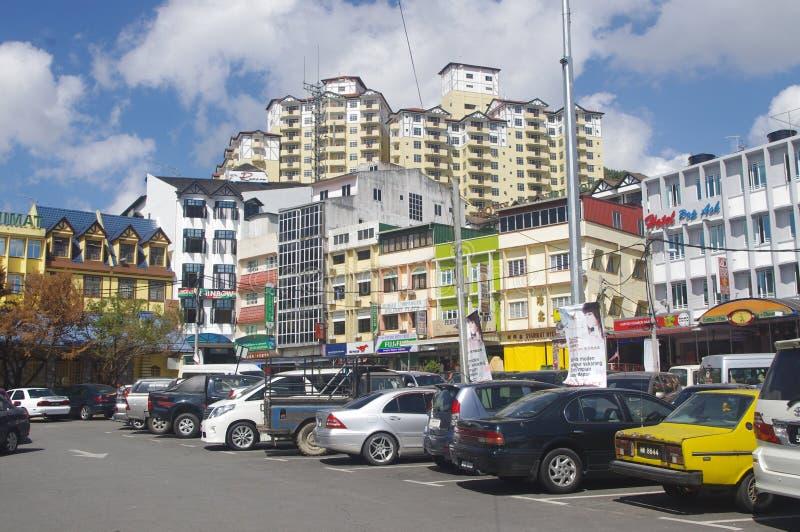 Recurso do monte de Brinchang fotos de stock royalty free