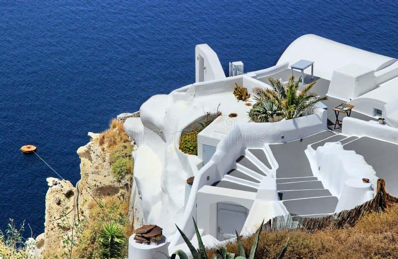Recurso em Santorini imagem de stock royalty free