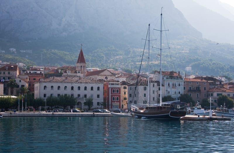 Recurso Makarska. Croatia fotos de stock royalty free